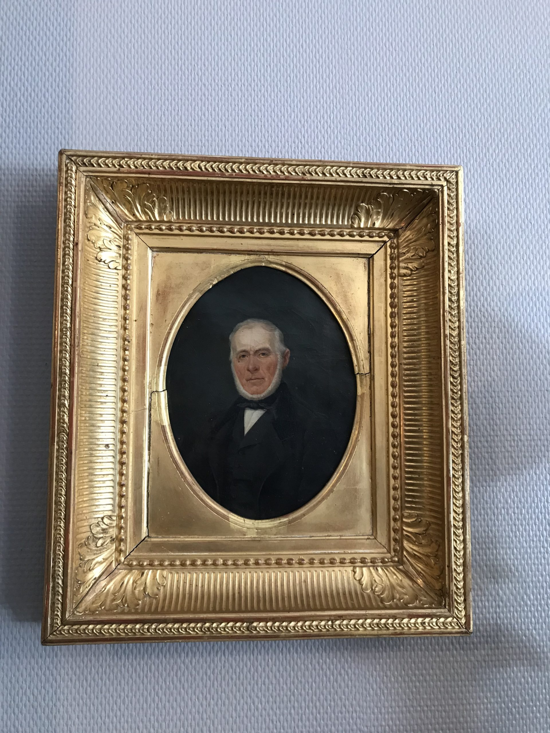 portrait homme 19 -ème